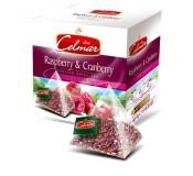 Celmar tee - Raspberry & Cranberry