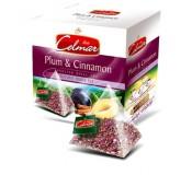 Celmar tee - Plum & Cinnamon