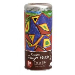 Teepadjad Rooibos Ginger Peach