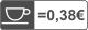 0,26 senti/tass